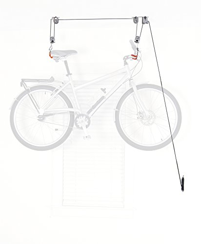 Delta Cycle El Greco Bike Hoist for Garage Lift Space Storage Kayak (System Hoist Pulley Bike)