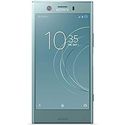 Sony Xperia XZ1 compact 4 6 Inch Screen  Android 8 0 Oreo  SIM-Free Smartphone with RAM and Storage  Single SIM  Horizon Blue