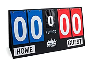 Crown Sporting Goods Deluxe Portable Scoreboard, Large