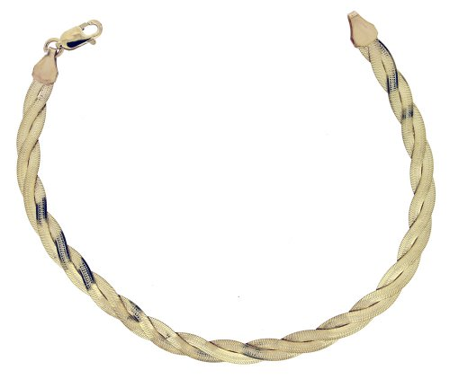 Bracelet - Femme - Or Jaune 375/1000 (9 Cts) 3.8 Gr
