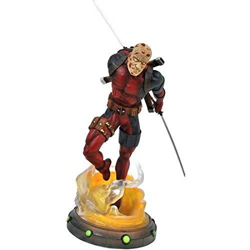 Marvel Diamond Select Gallery Deadpool Unmasked Figure Gamestop Exclusive