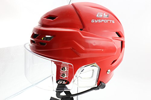 GY New Arrival Propene Polymer Helmet Excellent Ice Hockey Mask With Eye Shield Royal Visor Hockey Pro Equipment (Hockey Helmet Shields)