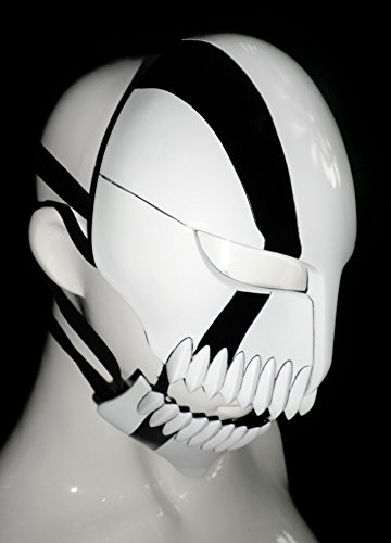 Mtxc Bleach Cosplay Prop Ichigo Kurosaki Hollow Mask Fifth Stage Movable Black