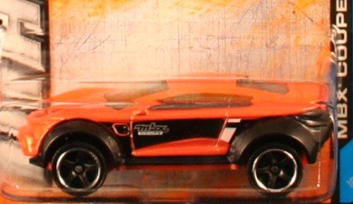 Mattel * MBX ADVENTURE CITY * 60th Anniversary Matchbox 2013 Basic Die-Cast Vehicle Orange #107 of 120 MBX COUPE