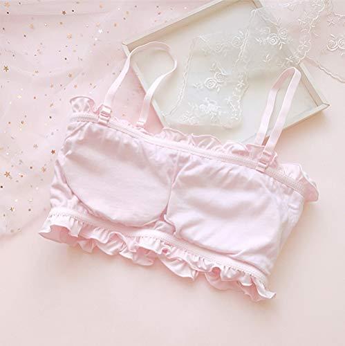 82817e4e427b4 YOMORIO Girls Cute Bra Panty Set Lolita Anime Cosplay Lingerie Kawaii  Japanese Underwear