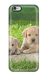 Waterdrop Snap-on Labrador Retriever Puppies Case For Iphone 6 Plus