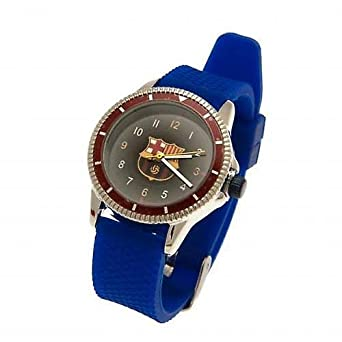 f8b66649d809f FC Barcelona reloj niño Sport Barcelona Fan Messi  Amazon.es  Relojes