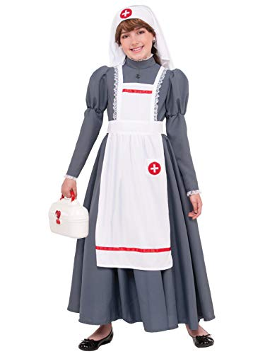 Forum Novelties 77759 Kids Civil War Nurse Costume,