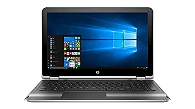 "HP Pavilion x360 15 2 in 1 Touch Laptop: Core i5-7200U, 8GB RAM, 1TB HDD, 15.6"" Full HD"