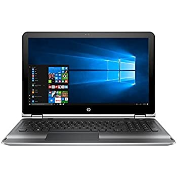 "HP Pavilion x360 15 2 in 1 Touch Laptop: Core i5-7200U, 8GB RAM, 1TB HDD, 15.6"" Full HD"