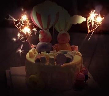 Amazon.com: Velas de cumpleaños para decoración de tartas de ...