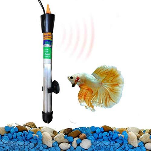 SunGrow Lansenfish Submersible Aquarium Heater (100W), Automatically Maintains Temperature, Adjustable Temperature Gauge…