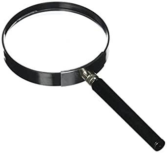 Kids Jumbo Magnifying Glass with 3x Magnification, Large and Durable Plastic Lens Magnifier for Toddlers Boys and Girls by Hey! Play!