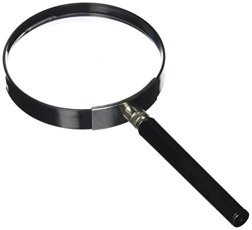 Kids Jumbo Magnifying Glass with 3x Magnification, Large and Durable Plastic Lens Magnifier for Toddlers Boys and Girls by Hey! - Glasses Girls Big For