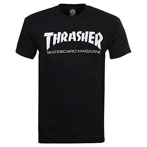Thrasher Skate Mag Short Sleeve T-Shirt - Black - Large