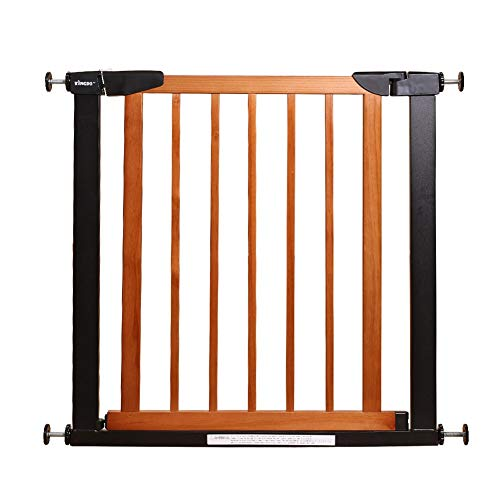 75cm High Pet Cat Gate with Door, Pet Dog Guardrail, Home Indoor Anti-Jump Isolation Fence for Small Cat, Gap 5cm