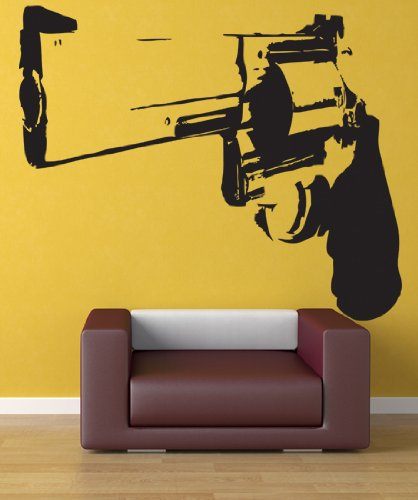 Amazon.com: Vinyl Wall Decal Sticker 357 Magnum Weapon Gun JH172 ...