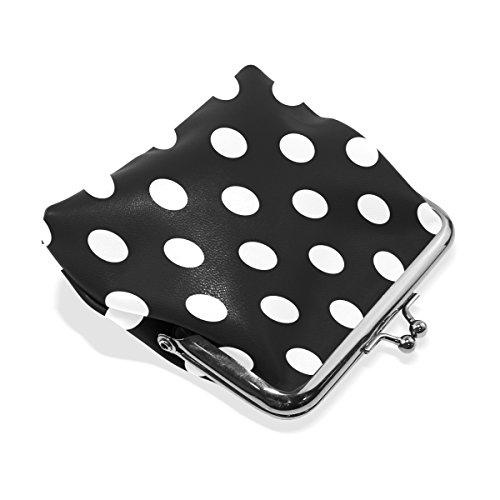Purse Pouch Holder Purse 01 Clutch Womens Coin Handbag Dot Card Wallet Coin MaMacool Polka 5Yq8wO