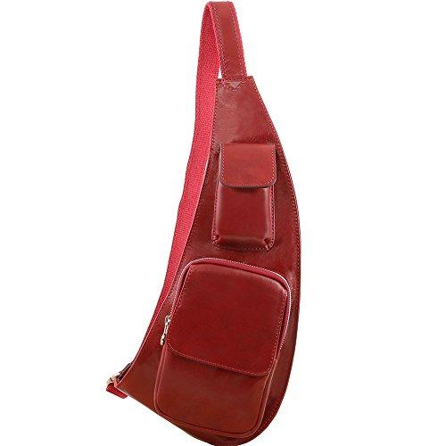 Tuscany Leather - Sac bandoulière en cuir - Rouge