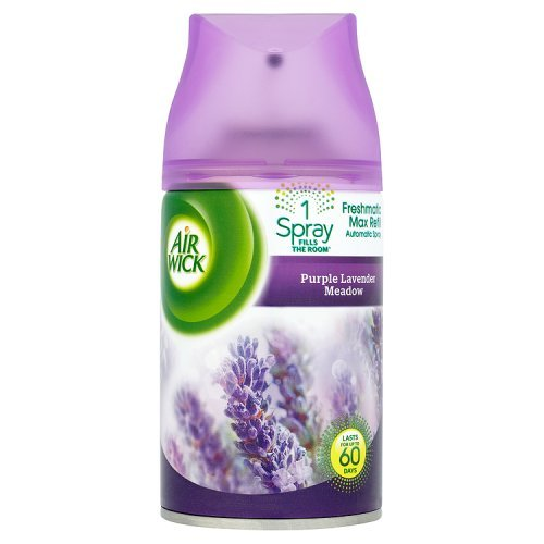 Air Wick Freshmatic Max Automatic Spray Refill Colours of Nature Purple Lavender Meadow 250 ml (Pack of 4) 795 B003M0EZLK