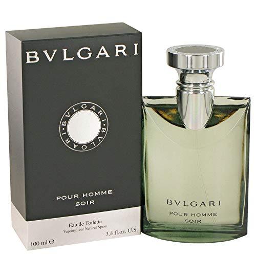 Bvlgari Pour Homme Soir Eau De Toilette Spray, 3.4 Ounce