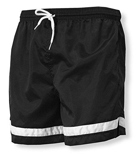 - Code Four Athletics 'Vashon' team soccer shorts - size Adult XL - color Black/White
