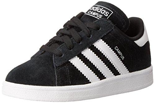 adidas Originals Campus 2 I Fashion Sneaker (Infant/Toddler), Black/White/Black, 8.5 M US Toddler