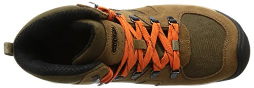 KEEN Stivali Brown Waterproof da Mid Westward Passeggio 7rnqP78c