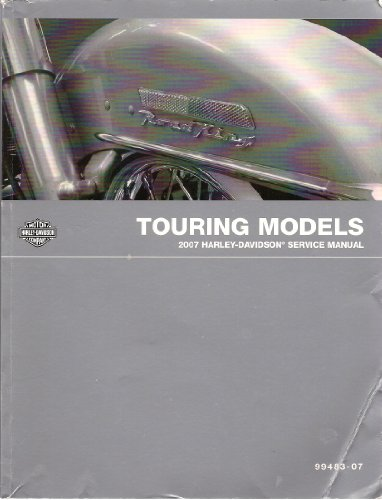 Harley Davidson 2007 Touring Models Factory Service Manual