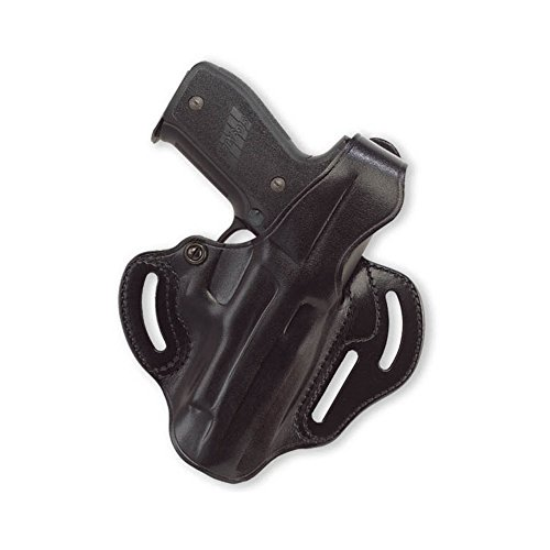 (Galco Cop 3 Slot Holster for Glock 17, 22, 31 (Black, Right-Hand) )