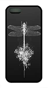 iphone 6 4.7 Case and Cover Dragonfly 2 Animal TPU Silicone Rubber Case Cover for iphone 6 4.7 Black
