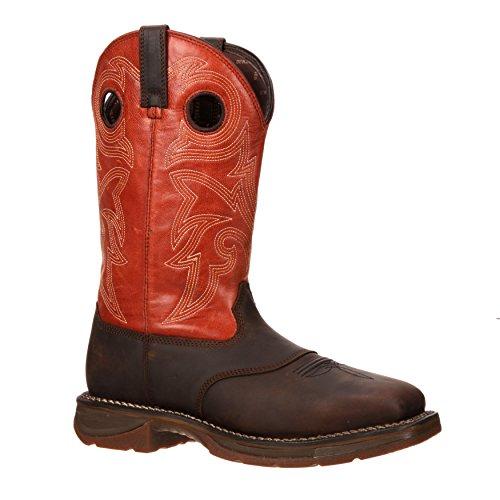 Workin Rebel Van Durango Mens 12 Steel Teen Western Boot-dwdb036