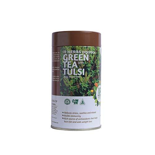 18 Herbs Organics Health with Herbs Green Tea with Tulsi