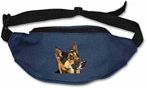 SEVTNY Waist Bag Standing-Elephant Fanny Pack Stealth Travel Bum Bags Running Pocket Unisex