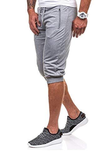 Shorts Allentati Con In Coulisse Da Hellgrau Battercake Uomo Jogging Sportivi Elastico Comodo Pantaloni Pantaloncini Vita qwdSCR