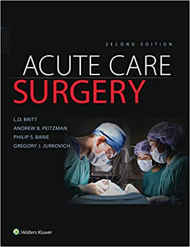 Acute Care Surgery, 2nd Edition