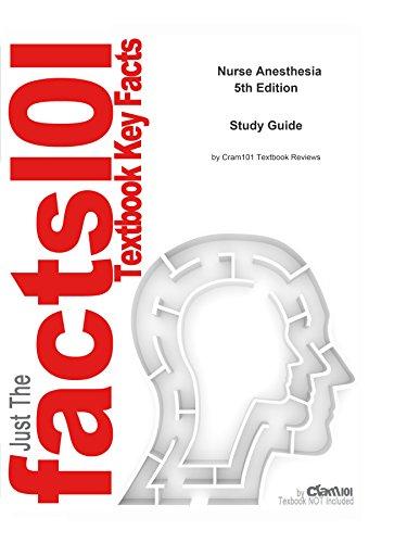 e-Study Guide for Nurse Anesthesia, textbook by John J. Nagelhout: Medicine, Medicine Pdf
