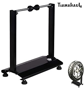 TiAMAHAUL Portable Motorcycle/Bicycle Wheel Balancer