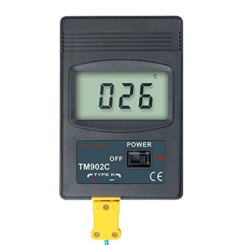 50 /°C//1200 /°C and 5 K-type Thermocouple NUZAMAS Dual Two Channel Digital Thermometer 2 K-Type Thermocouple Sensor Digital Thermometer 2 Way K-Type Sensor Temperature Probe
