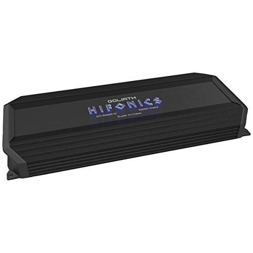 Hifonics GA-5000.1D 27.10in. x 10.30in. x 3.70in. Goliath Series Monoblock Super D-Class(tm) Amp (5,000 W)