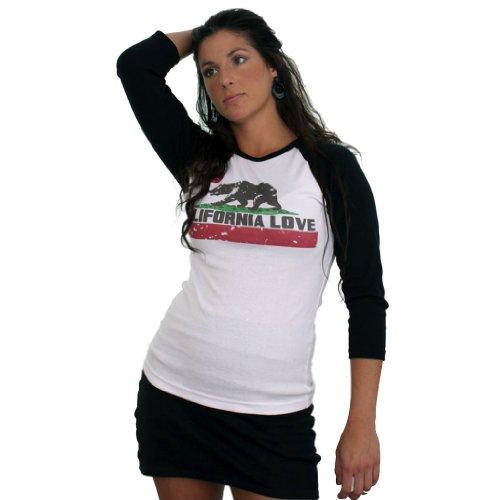 California Love Baseball 3/4 Sleeve Raglan Jersey by DSC