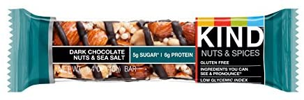 Kind, Bar Dark Chocolate Nuts Sea Salt, 1.4 Ounce