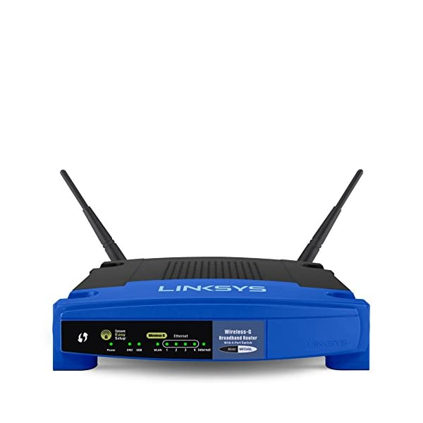 Linksys WRT54GL Wireless-G Broadband Router (WRT54GL-CA)
