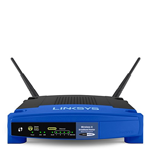 - Linksys WRT54GL Wi-Fi Wireless-G Broadband Router