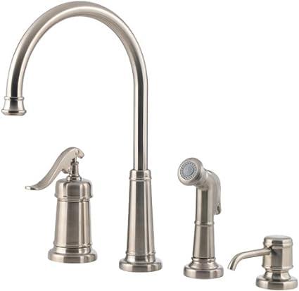 Pfister Gt26 4ypk Gt26 4ypk Ashfield Single Handle Kitchen Faucet