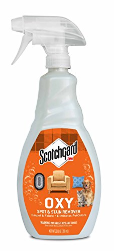 Scotchgard OXY Pet Carpet & Fabric Spot & Stain Remover, 26 Fluid Ounce