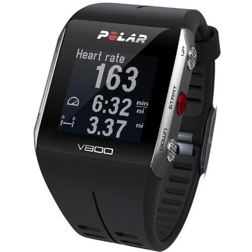 Polar V800 GPS Sports Watch with Heart Rate Monitor, Black by Polar