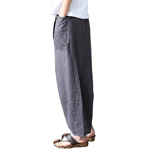 mujer Pantalones Pantalones Algod mujer de Aeneontrue de Aeneontrue w6YEq