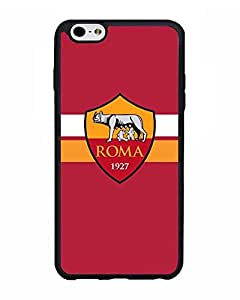 Iphone 6s Plus Funda Case Football Club As Roma - Customized Drop Protection Dust-Proof Iphone 6 6s Plus (5.5 Inch) Back Funda Case Cover For Guys