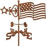 Garden Mount Weathervane, Model 9340 – Flag Design